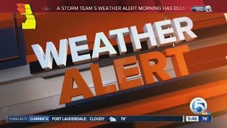 Sunday Weather Storm Team 5 Weather Alert Day