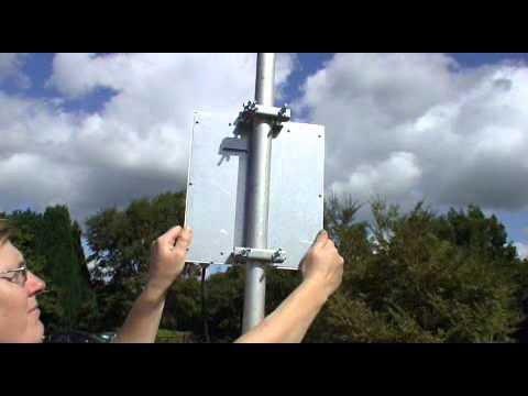 Installazione del 3G GSM UMTS Ripetitore / Amplificatore Stella Doradus.wmv