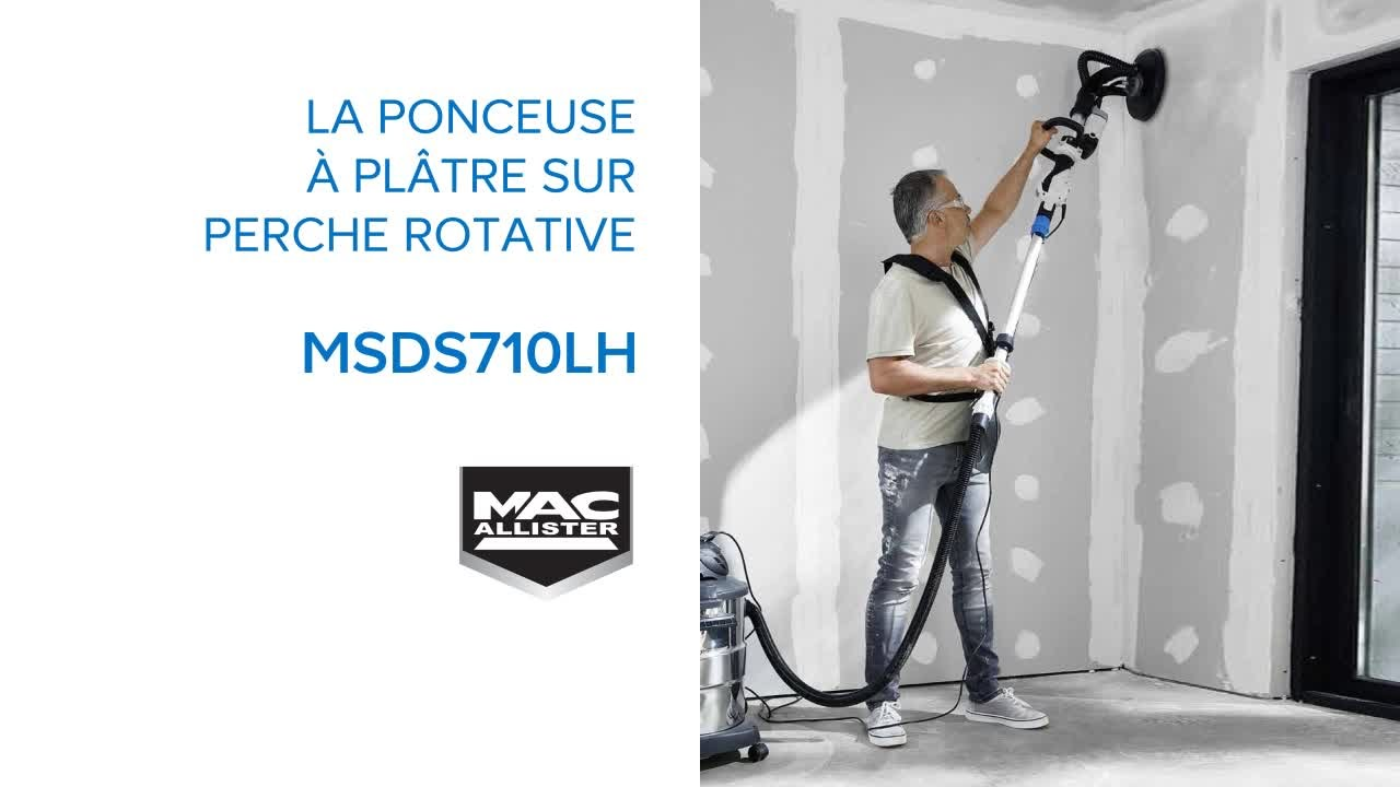 Ponceuse Sur Perche Rotative 710w Mac Allister 686558 Castorama