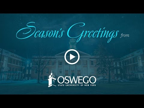 Season's Greetings from SUNY Oswego, 2018