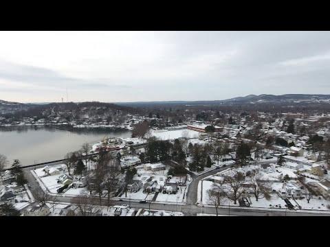Pompton Lakes, NJ Winter Drone Flight