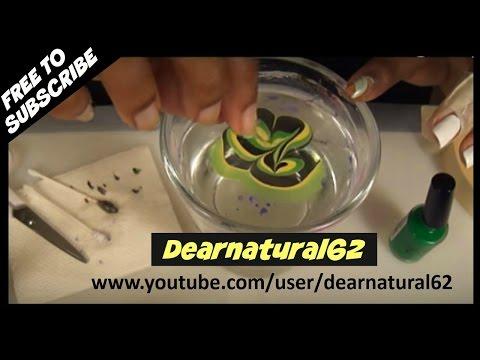 NAIL ART - WATER MARBLE TUTORIAL | Dearnatural62