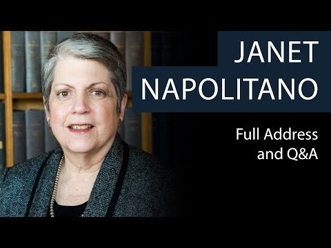 Janet Napolitano | Full Address and Q&A | Oxford Union