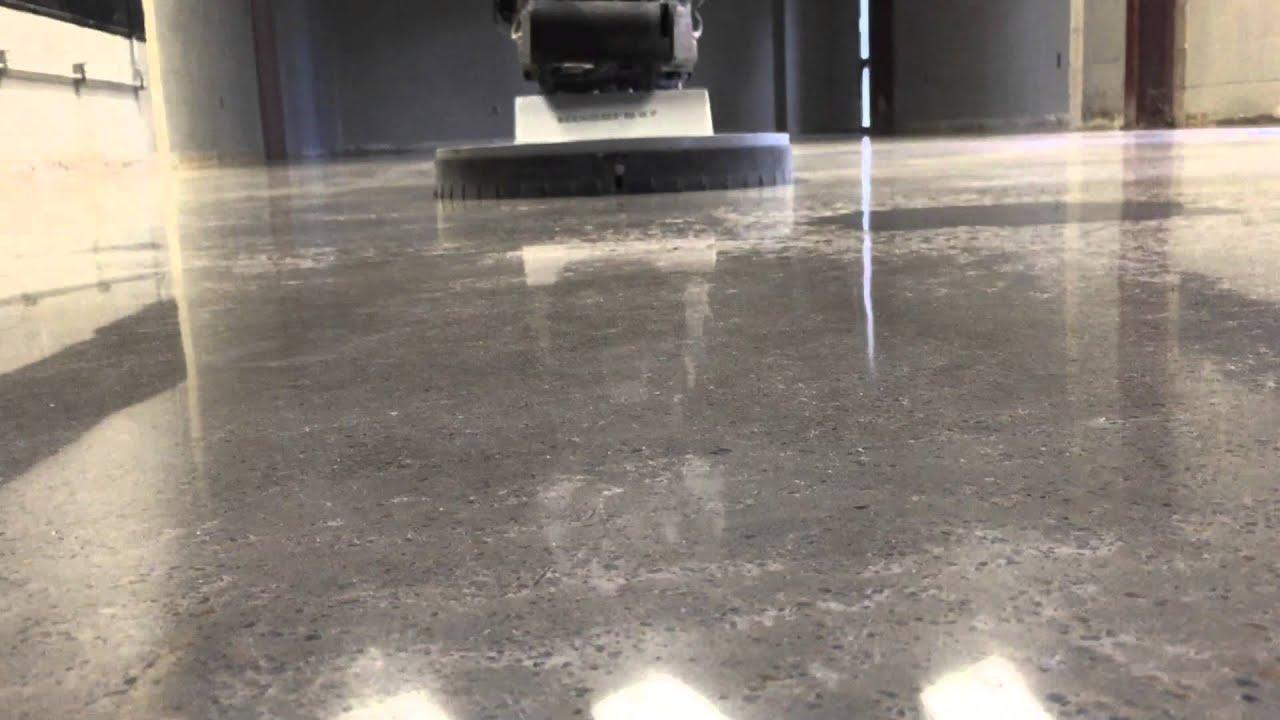 Buffing polished concrete floors gurus floor for Buffing stained concrete floors