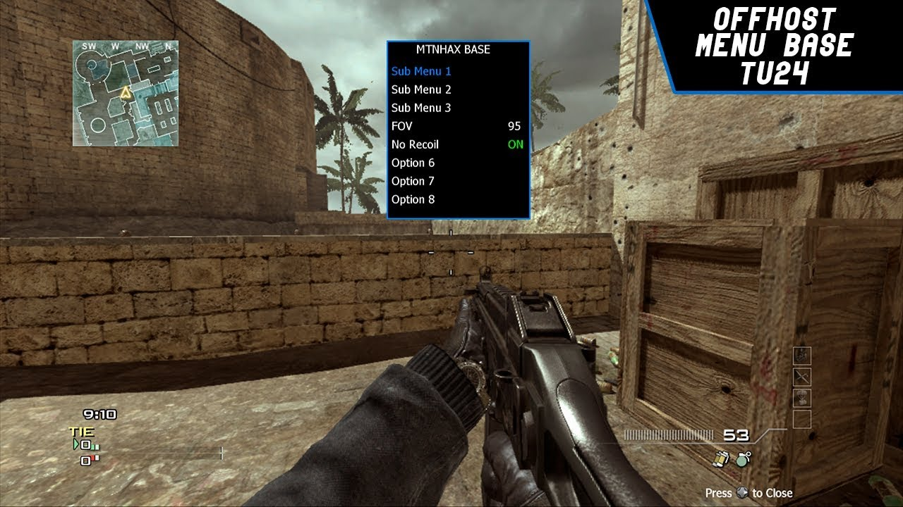 MW3 TU24 OFFHOST MENU BASE BY MTNHAX UPDATED BY IMCROUT + DOWNLOAD  (JTAG/RGH)
