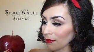 Snow white makeup l Halloween tutorial Thumbnail