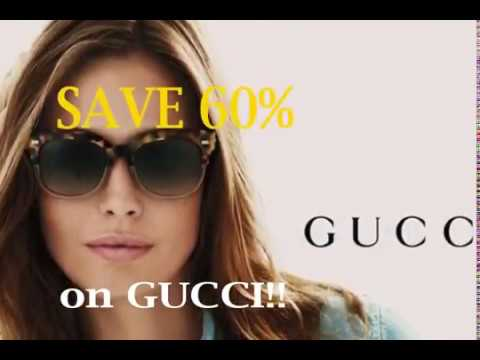 Mention Google, SAVE 60% on GUCCI!