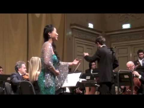 "Soprano Yue Wu sings ""Morgen"" by Richard Strauss - Conductor Giacomo Fossa - 女高音吴越演唱《明天》"