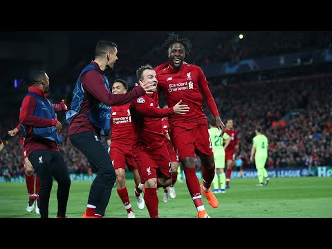 LIVE: Liverpool 4-0 Barcelona   Comeback Completed - Liverpool In The Final   #TheFootballSocial