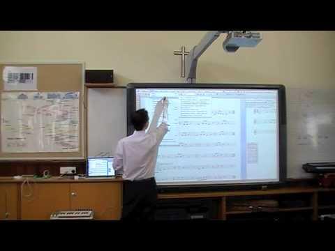 An Interactive Music Classroom