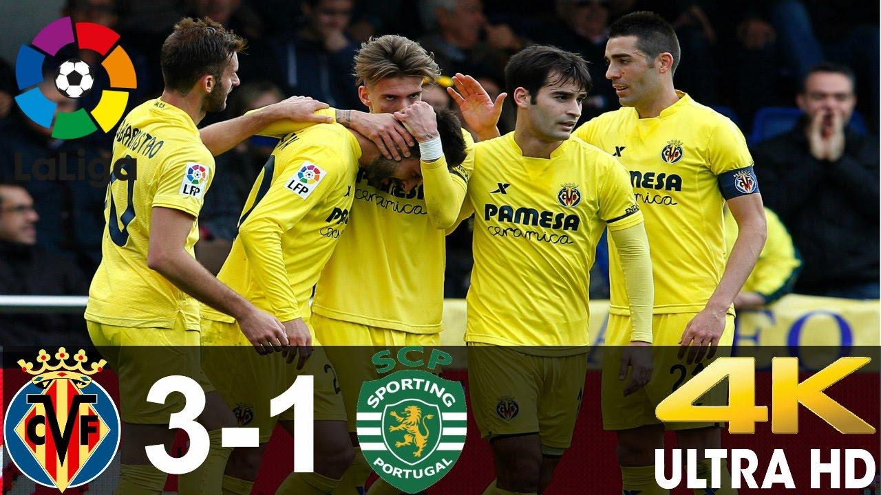 Download Villarreal vs Sporting 3-1 All goals And highlights || 17/12/16 || La Liga HD