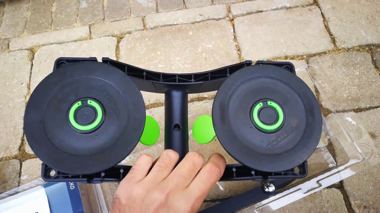 Festool GECKO DOSH-Set Dual Suction Pad