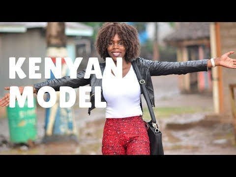 Kenyan Model reaches out to young girls in the slum | Kenyan Story