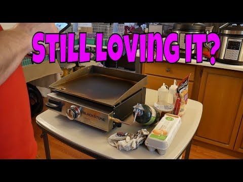 Blackstone 17 Inch Griddle Long Term Review
