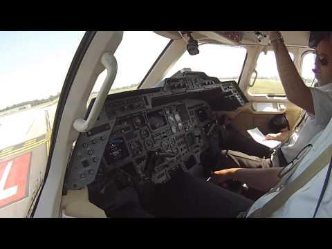 Dayton to Austin in a Hawker 800XP