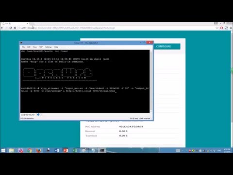 Arduino YUN And USB Camera Setup (includes Web Controller Preview)