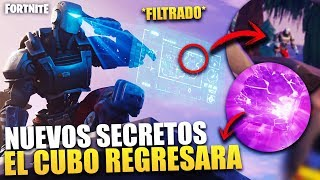 NEW SECRETS *THE CUBE WILL RETURN* GAME BACK STORY [WEEK 8 & 9] *FILTRATE* FORTNITE BR