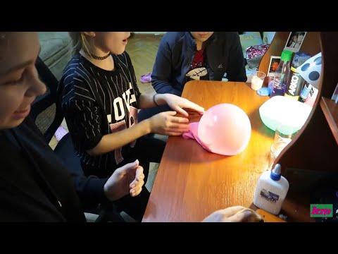VLOG Подруги в гостях, делаем слаймы / Мой день / Life vlog