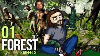 THE FOREST [S03E01] - Männer allein im Busch ★ Let's Survive The Forest