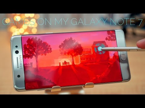 20 GAMES I PLAY ON MY GALAXY NOTE 7