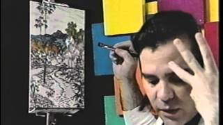 Painting with Tali , The Gauguin Style landscape