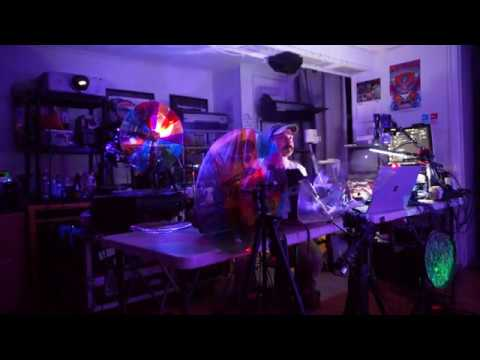 Analog Psychedelic Light Show - Live Multi Camera - Epic Rig