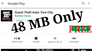 (48 MB) Download Now real GTA 3 with Highly compressed for Android Device.