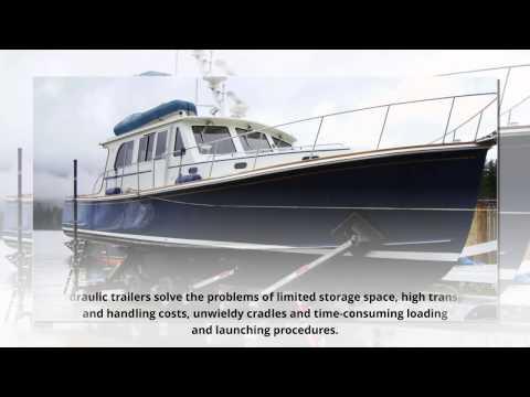 Repeat Custom Hydraulic Boat Trailer For Sale by HOSTAR