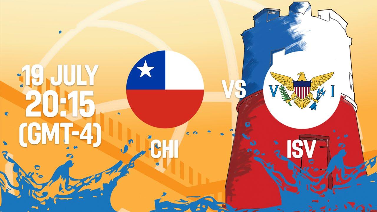 Chile v Virgin Islands - Full Game - Group B