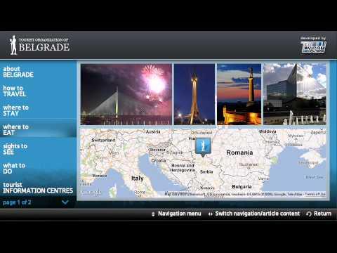 Belgrade City Guide App