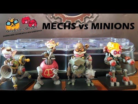 Mech vs Minions  Wave 3 unboxing.