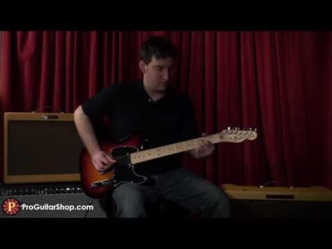 Fender American Special Telecaster 3TSB