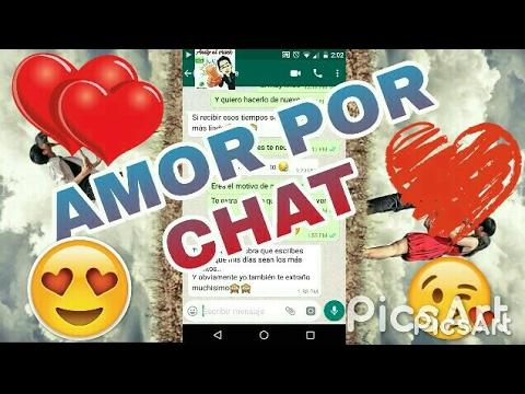Historia De Amor Por Chat.❤😘😍