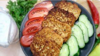 Котлеты из кабачков Вкусные сочные объедение
