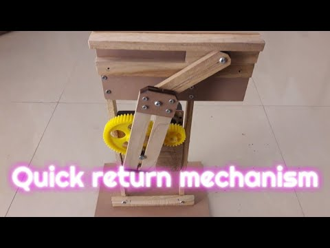 Quick Return Mechanism | Binary Live Projects