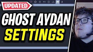 *NEW* Ghost Aydan Fortnite Settings & Controller Keybinds (UPDATED SETTINGS)