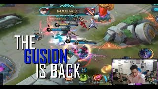 THE GUSION IS BACK - NUNG MAY BUHOK PA AKO - 1000 DIAMONDS GIVEAWAY - RANK - GAMEPLAY