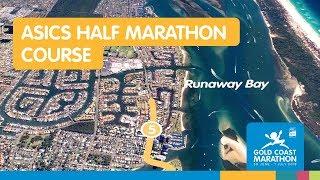 2018 ASICS Half Marathon Course