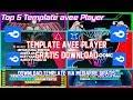 Bagi Bagi Template avee Player keren Gratis Download#8