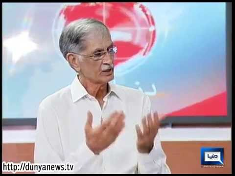 Dunya News - PTI will always stand by army: CM Pervaiz Khattak