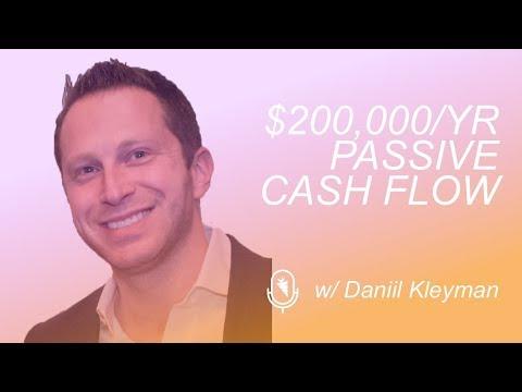 How To Build A $200,000/yr Passive Cash Flow Rental Portfolio w/ Daniil Kleyman
