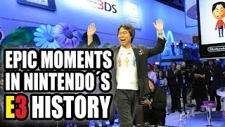 Epic Moments in Nintendo's E3 History (1995-2013)