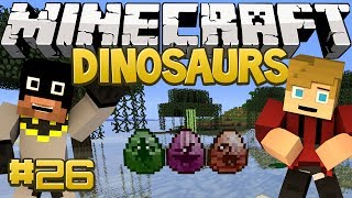 Minecraft Dinosaurs Mod (Fossils and Archaeology) Series, Episode 26 - Tar Pit???