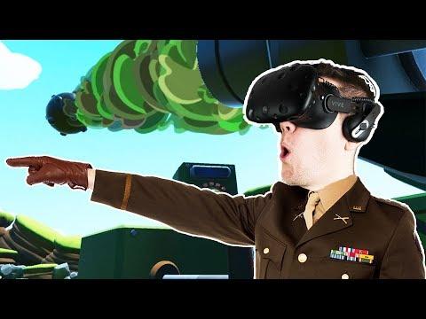 Forts in VR! - Mortars VR Gameplay - VR HTC Vive
