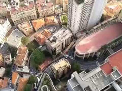 Monaco vu de la tour odéon