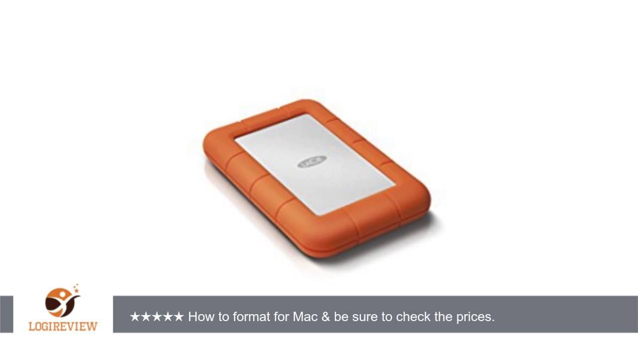 LaCie Rugged Mini USB 3.0 / USB 2.0 1TB External Hard Drive 301558 |  Review/Test