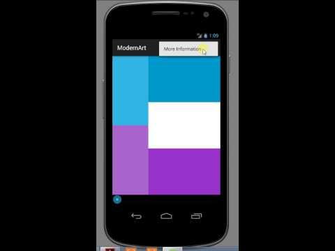 Modern Art App - Yudhir