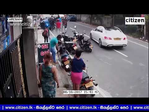 Kottawa Accident CCTV