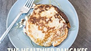 Eggs and Banana Healthy Pancakes by The Fat Kid Inside