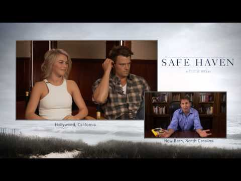 Safe Haven Trailer Premiere and Live Cast Q&A